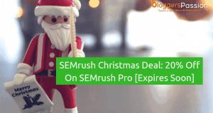 semrush christmas deal
