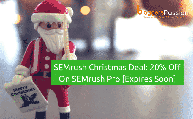 semrush christmas deal