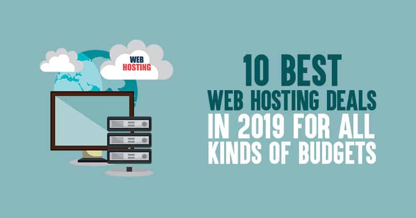 Best Web Hosting Deals for 2019