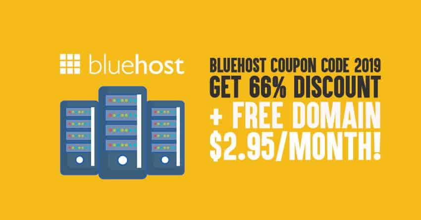Bluehost Coupon 2019: [Don't Purchase Bluehost Until You Read This]