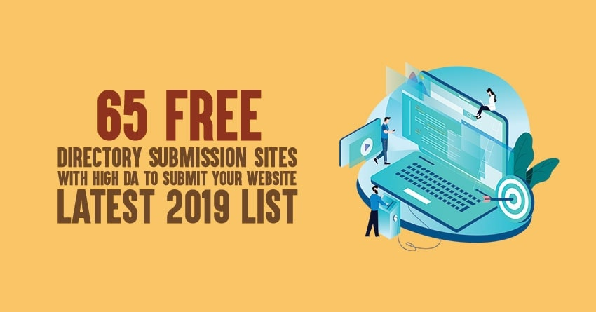 list of free directory submission sites list with high DA