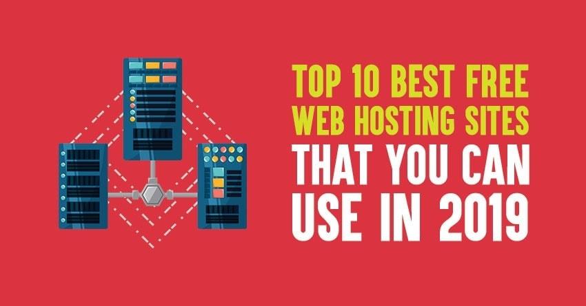 free web hosting sites in 2019