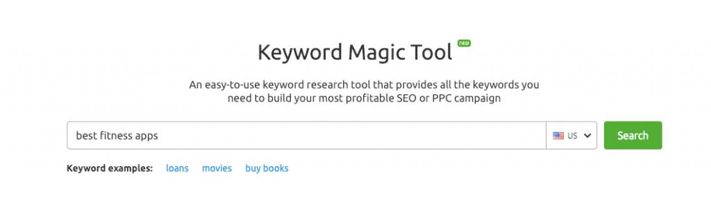keyword magic
