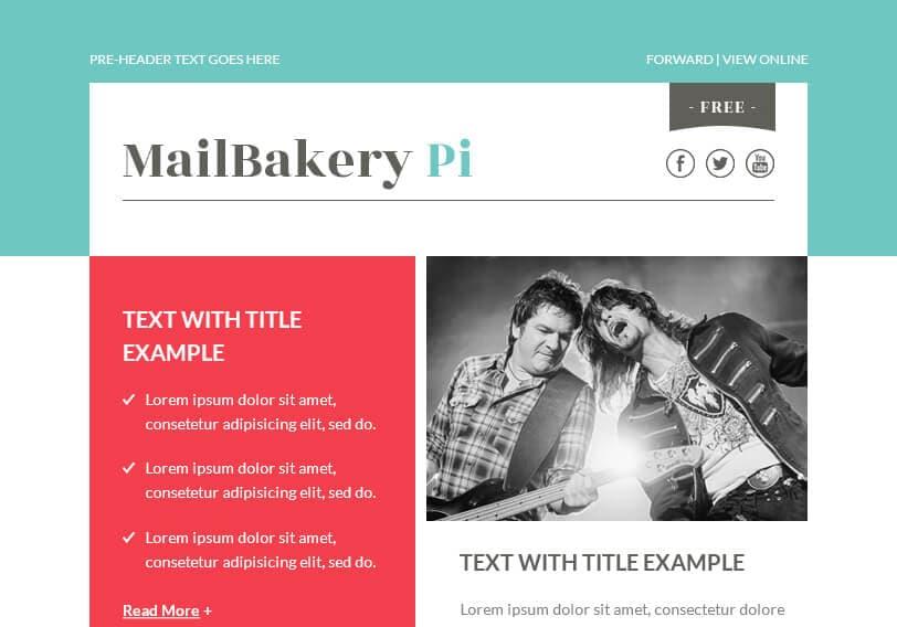 mailbakery templates