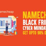 Namecheap Black Friday and Cyber Monday Deals in 2019: Get Upto 98% Discount