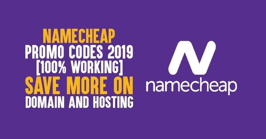 namecheap promo codes 2019