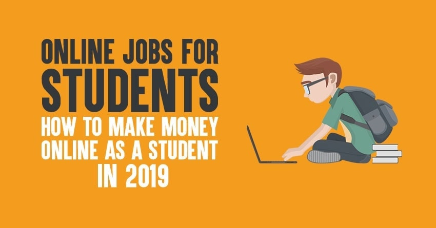 online jobs for students to make money online