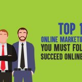 Top 10 Online Marketing Gurus You Must Follow to Succeed Online in 2019
