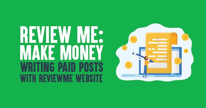 Make money doing reviews with ReviewMe