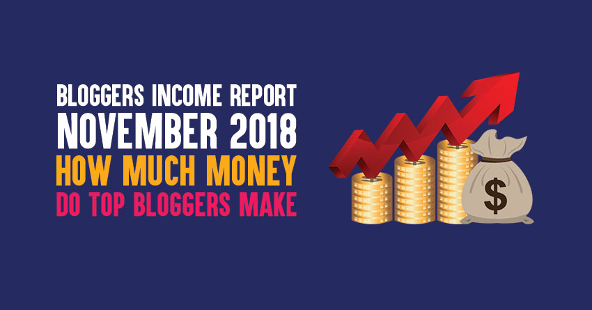 Top bloggers income reports