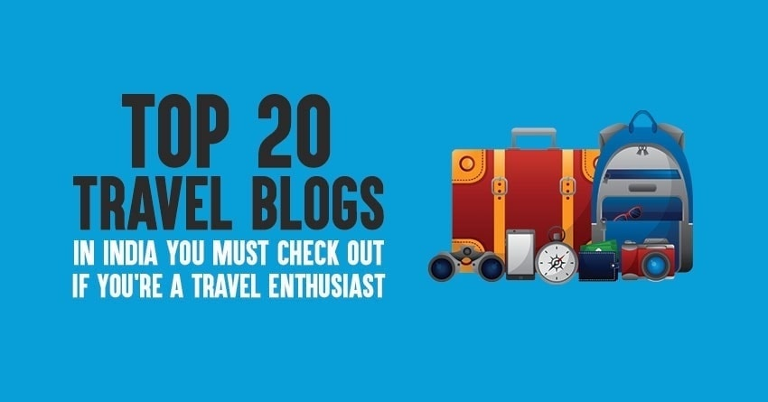 Top travel blogs in India