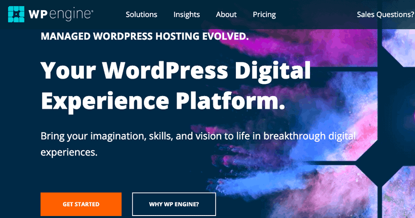 WPEngine Web Hosting deal