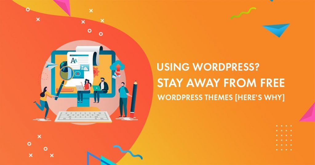 avoid free wordpress themes