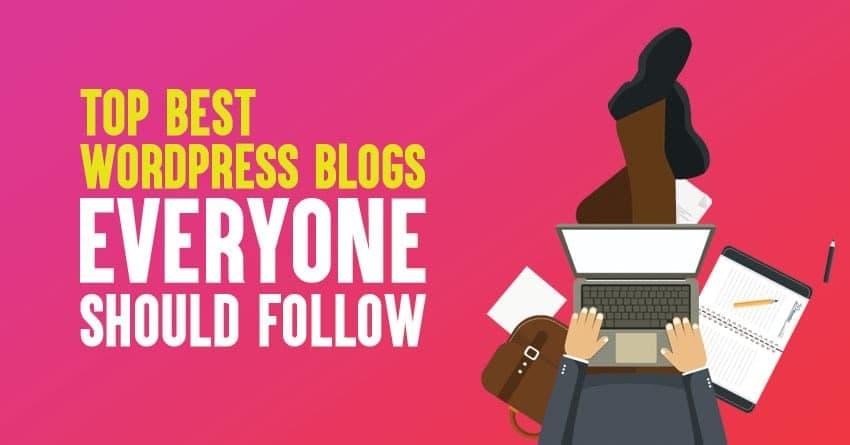 best wordpress blogs for 2019