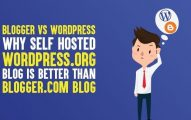 Blogger vs WordPress: Why Self Hosted WordPress.org Blog is Better Than Blogger.com Blog