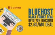 Bluehost Black Friday 2019 Deal: Grab Upto 70% Discount for 36 months