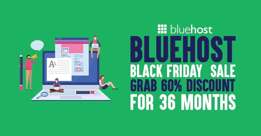 Bluehost Black Friday 2019 deal