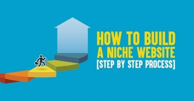 How to Build a Niche Website [Step by Step Process]