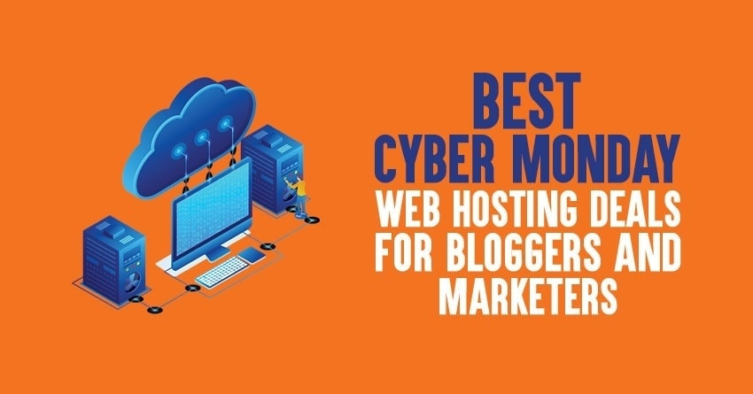 Best Cyber Monday web hosting deals