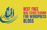 10 Best Free Real Estate Plugins for WordPress Blogs