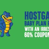 HostGator Baby Plan Review 2019: With An Irresistible 60% Coupon Code