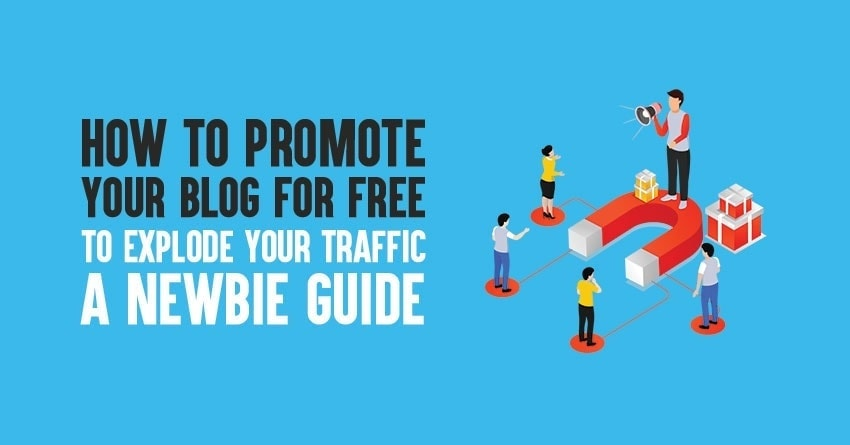 how to promote your blog for free in 2020