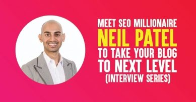 Interview with Neil Patel to Take Your Blog to the Next Level