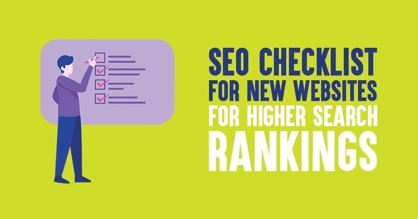 seo checklist for new website in 2021