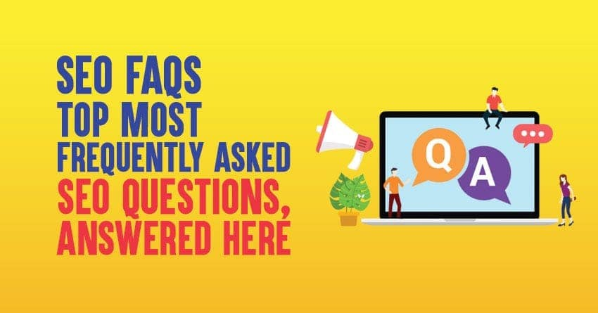 top SEO faqs with answers in 2020