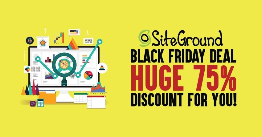 SiteGround Black Friday 2019 Deal