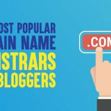 Top 10 Most Popular Domain Name Registrars for Bloggers in 2019