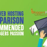 Best Web Hosting Comparison [2019 Edition]: Recommended By Bloggers Passion