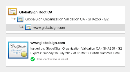 Organization Validation ssl
