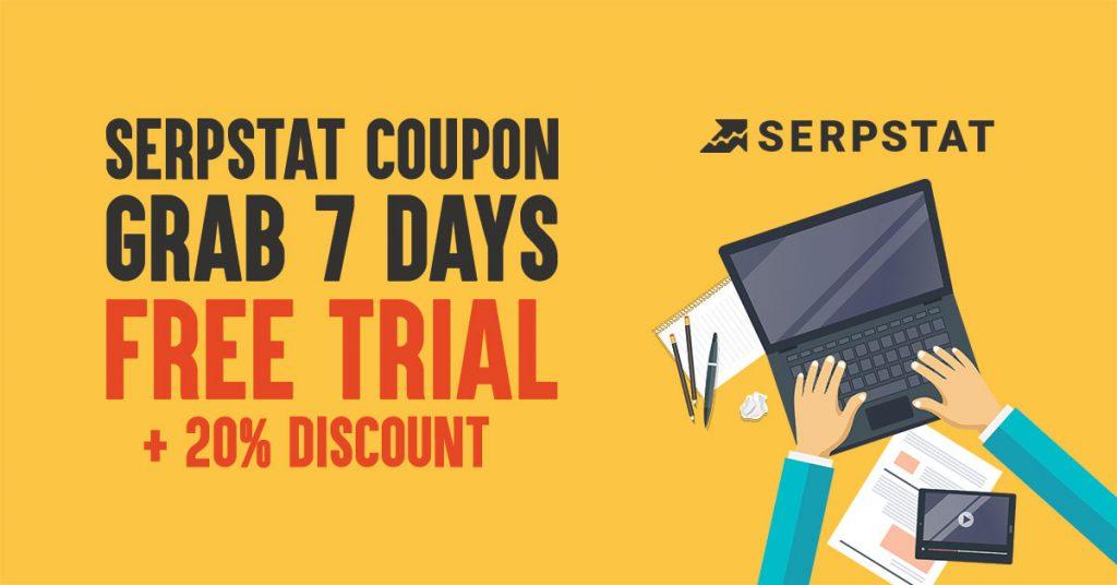 serpstat coupon code