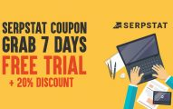 Serpstat Coupon Code 2019: Grab 7 Days Free Trial + 20% Discount