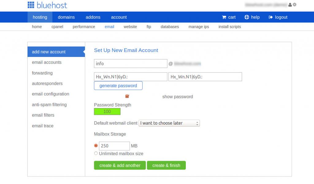 email storage new