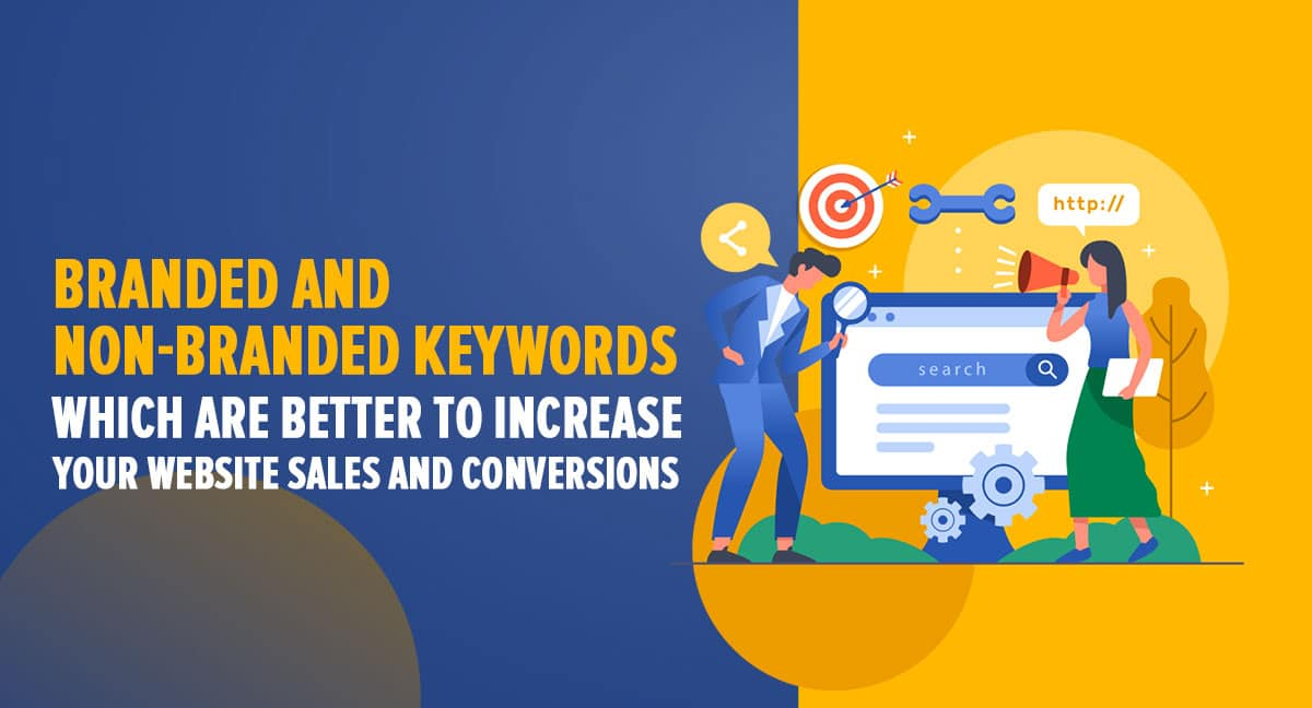 branded vs non branded keywords
