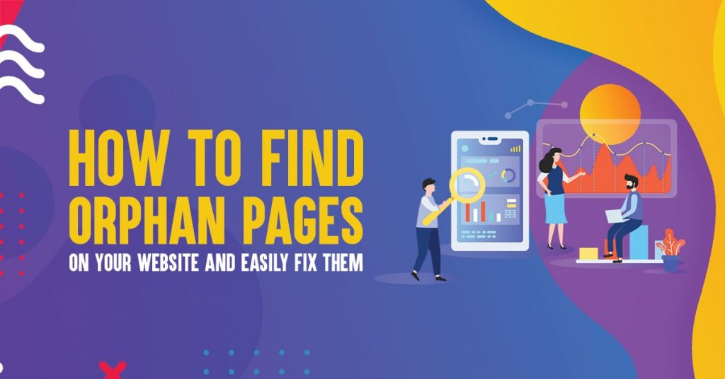 find orphan pages