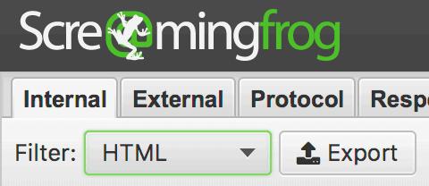 html import