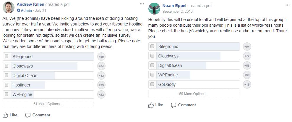 siteground fb poll