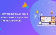 How to Increase Your Website Search Traffic Fast In 2019 [The Noob Guide]