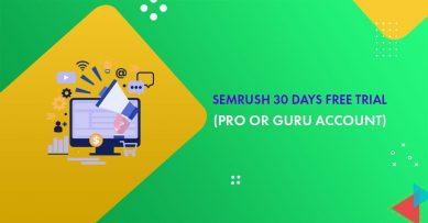 Semrush 30 Days Free Trial 2021: Grab Semrush Pro Or Guru Account (Including A Free eBook!)