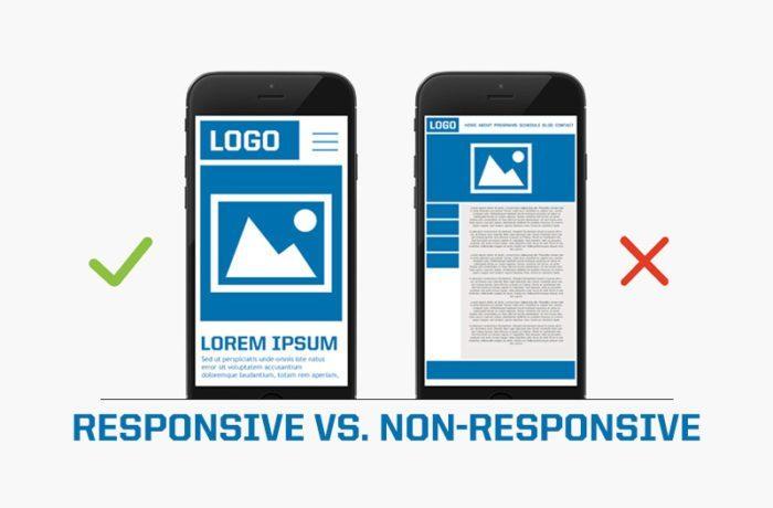 responsive vs non responsive