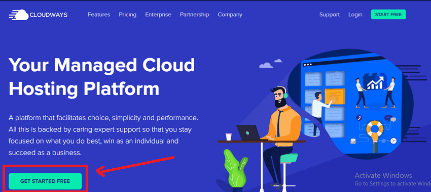 Cloudways Free Trial