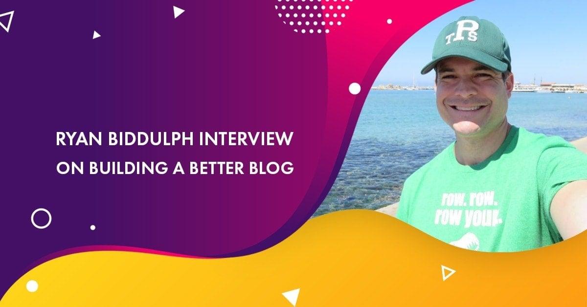 Ryan Biddulph Interview