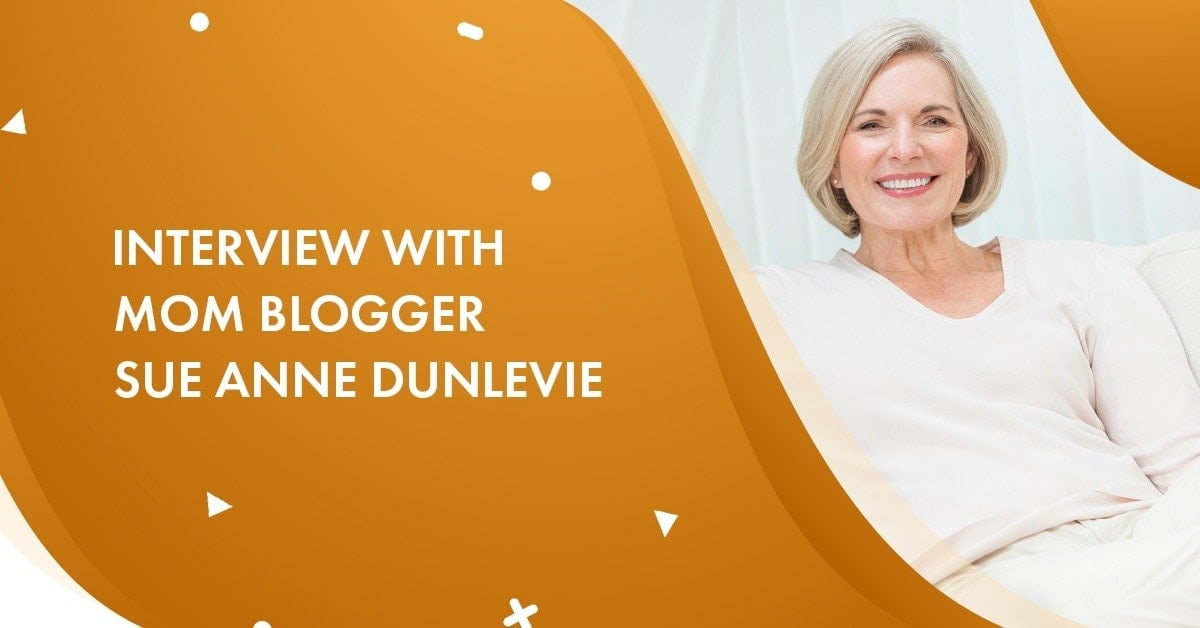 interview with Sue Anne Dunlevie Blogger