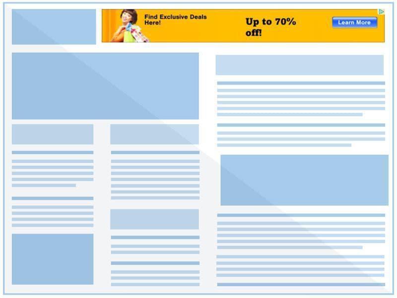 Leaderboard ad