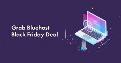Bluehost Black Friday 2020 Deals: $2.65/Mo + Free Domain [Live Deal]