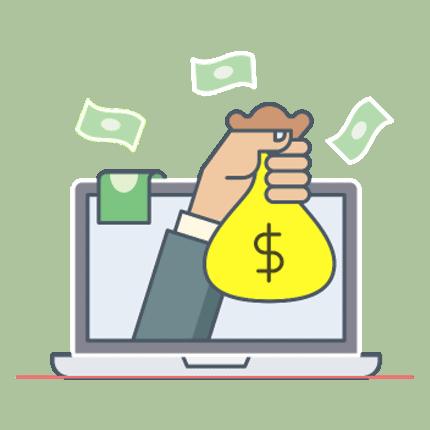 costruire soldi per il blog