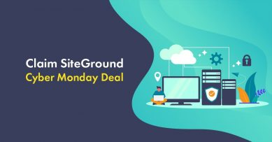 SiteGround Cyber Monday 2019 Live Deal: Get 75% Off [Live Now]